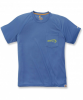Carhartt Force Fishing Graphic T-Shirt S/S - Funktionsshirt - federal blue 445 - Gr.L