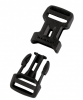Mammut Dual Adjust Side Squeeze Buckle - Verschlussschnalle - black - 15 mm