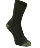 Craghoppers NosiLife Single Travel Socken Men - Reisesocken mit Schutz vor Insekten - parka dark green - Gr.39-42 (6-8)