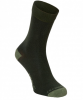 Craghoppers NosiLife Single Travel Women Socken - Trekkingsocken mit Schutz vor Insekten - parka dark green 1ZI - Gr.35-38