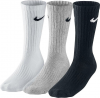 Nike Value Cotton Crew 3-er-Pack Socken - Sneakersocken - SX4508-965