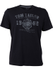 Tom Tailor Herren T-Shirt Logo Tee Basic