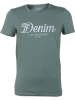 Tom Tailor Denim Herren Rundhals T-Shirt mit Print