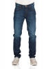 Lee Herren Jeans Arvin - Regular Tapered - Blau - Hudson Blue
