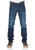 Lee Herren Jeans Daren Zip Fly - Regular Fit - Blau - Hudson Blue