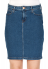 Lee Damen Jeansrock Pencil - Blau - Jackson Worn
