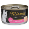 Miamor Feine Filets in Jelly Huhn und Reis 100g Dose 12x100g
