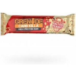 Grenade Carb Killa, 1 Riegel, 60g White Chocolate Salted Peanut