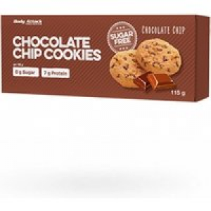 Body Attack Cookies Chocolate Chip, 115g