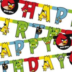 Angry Birds Birthday-Kette 1,8 m