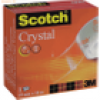 Scotch Klebefilm Crystal Clear 10mx19mm klar