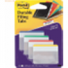Post-it Index Tabs Strong flach VE=4x6 farbig