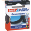 Tesa Gewebeband extra Power Perfect 19mmx2,75m schwarz