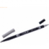 Tombow Dual-Fasermaler ABT mit Rundspitze/Pinselspitze cool grey 5