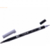 Tombow Dual-Fasermaler ABT mit Rundspitze/Pinselspitze cool grey 6