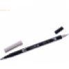 Tombow Dual-Fasermaler ABT mit Rundspitze/Pinselspitze cool grey 1