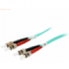 Digital data communication equip ST/ST Fiber Optic Patch Cord- OM3, 1m