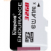 Kingston Technology Kingston 32GB microSDHC Endurance 95R/30W C10 A1 U