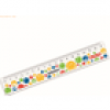 Herlitz Lineal Smiley World Rainbow 17cm