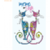RNK Notizbuch Memo my style 8x13cm Softcover Cats liniert 64 Seiten