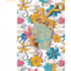 RNK Notizbuch Memo my style 8x13cm Softcover Coloured Flowers liniert