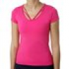 Ombre Strappy T-Shirt Damen