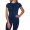 ESN Premium Seamless Women T-Shirt, Blue M-L