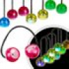 Finger LED Balls, 1 Paar