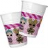 LOL Surprise Partybecher 8 Stk, Vol. 200ml