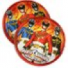 Power Rangers Megaforce Partyteller, ideal für Boys, 8er Pack, 18cm