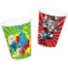 Schlümpfe Partybecher in toller 3D-Version, 8er Pack, 2 Designs, 250ml