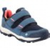 Jack Wolfskin Wasserdichte Kinder Wanderschuhe Mountain Attack 3 Texapore Low VC Kids 39 blau