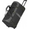 Travelite Basics Active Trolley Reisetasche Anthrazit/Lemon