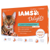Iams Delights Multipack Land Collection in Sauce 12x85g
