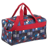 4YOU Jump Collection Sporttasche 43 cm - square red/blue