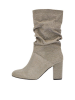 Bianco ANICA Slouchy Rounded Stiefel