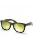 WOOD FELLAS Jalo Mirror Sonnenbrille - Braun