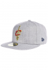 NEW Era NBA Heather Fitted Cleveland Cavaliers Fitted Cap - Grau