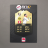 FIFA 17 Bürki Ultimate Team, signiert